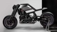 Minimalistická motorka Digimoto byla navržena ve virtuální realitě