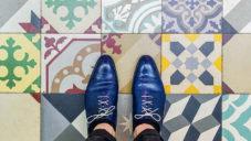 Sebastian Erras fotografuje krásy pařížských podlah