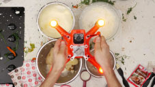 Autel Robotics použili dron na přípravu sváteční večeře