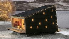 Na Severním pólu vznikla malá kabina pro Santa Clause