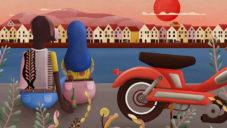 Carlín Díaz vytvořila ilustrovaný videoklip pro Kakkmaddafakka