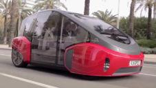 Rinspeed Oasis je futuristické samořídící auto do města