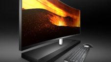 HP uvádí minimalistický a vybavený počítač Envy Curved All-In-One