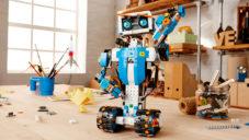 Stavebnice robotů Lego Boost má učit děti programovat