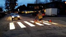 Nizozemsko má první svítící přechod pro chodce na světě