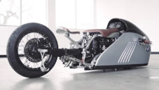 Alpha je unikátní motorka postavená ze staré BMW K75