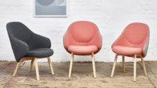 Alex Gufler navrhl pro Ton polstrované židle a křeslo Alba