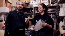 Vobouch vyrábí unikátní vázy spojující beton a sklo