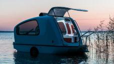 Sealander je karavan co umí plout na vodě jako loď