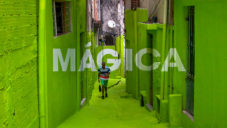 Boa Mistura pomalovali ulice São Paula optickými nápisy
