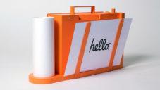 Paper je mobilní tiskárna a skener s podobou kufru