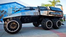 NASA ukázala koncept vozidla pro dopravu po planetě Mars