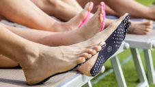 Nakefit je nalepovací podrážka na chodidlo pro ochranu nohou