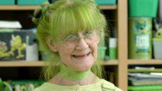 Newyorská umělkyně zasvětila celý život zelené barvě