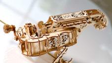 Hudební nástroj niněra si doma složíte ze dřevěné překližky