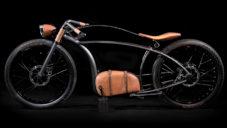 Avionics V1 je elektrické kolo v designu staré motorky