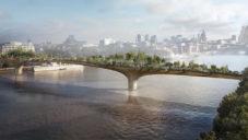 Apple by mohl podpořit výstavbu mostu s parkem Garden Bridge