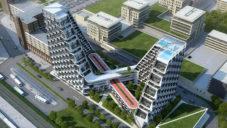 Nizozemský bytový dům bude mít na střeše běžeckou dráhu