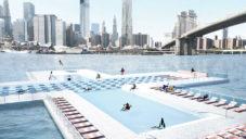 New York chce postavit plovoucí bazén s vodou z řeky