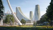 Santiago Calatrava postaví v Londýně most a Peninsula Central