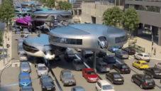 Gyrocar je vizí jednostopých dopravních prostředků pro města