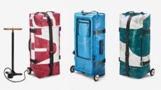 Freitag navrhl skládací cestovní tašku na kolečkách The Zippelin