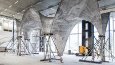 Švýcarské ETH vyrobilo ultra-tenkou střechu z betonu