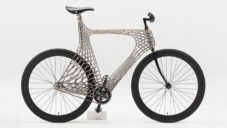 Arc Bicycle je první kolo s kovovým rámem vyrobeným pomocí 3D tisku