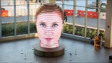 Matthew Mohr vytvořil obří sochu s digitálním portrétem lidí
