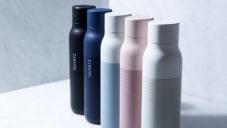 Quartz je láhev nejen na vodu čistící sebe sama UV světlem