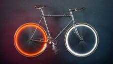 Arara je stylové osvětlení pro jízdní kola bez baterií na bázi magnetů