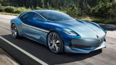 Německá automobilka Borgward oživila kupé Isabella futuristickým konceptem