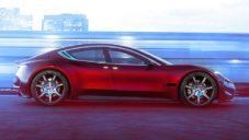 Fisker ukázal elektricky poháněný sedan Emotion s efektně výklopnými dveřmi