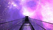 Kino s tvarem koule Space 360 uvnitř promítá jako ve virtuální realitě