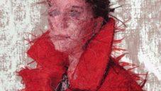 Cayce Zavaglia desítky hodin ručně vyšívá realistické portréty