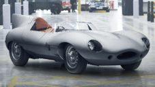 Jaguar oživil výrobu legendárního závodního vozu D-type z roku 1954