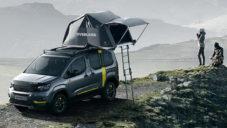 Peugeot ukázal koncept Rifter 4×4 se stanem na střeše pro dobrodružné cesty