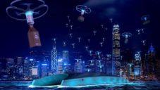 PriestmanGoode navrhli doručovací drony Dragonfly pro města budoucnosti
