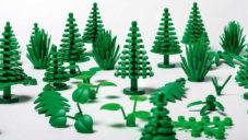 Lego začíná vyrábět botanické prvky do stavebnic z plastu z cukrové třtiny