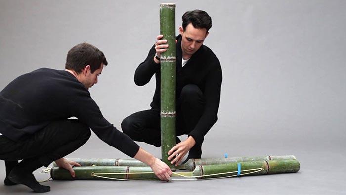 stefan diez navrhl kolekci n bytku soba ze surov ho bambusu. Black Bedroom Furniture Sets. Home Design Ideas