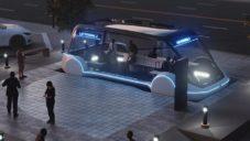Loop jsou autonomní autobusy rychle jezdící v tunelech pod městy