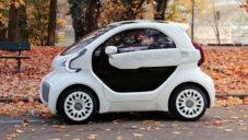 X-EV je funkční 3Dtištěné auto vyrobené za tři dny z 57 částí