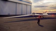 NASA vyvinula tichý nadzvukový letoun pro komerční lety