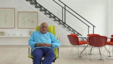 Slavný britský architekt Richard Rogers ukazuje svůj dům v Londýně