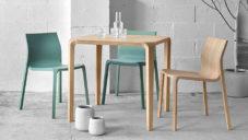 Ben van Berkel navrhl kolekci elegantních dřevěných židlí a stolů Silu