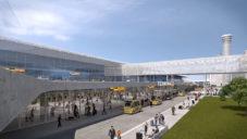 Pražské letiště ukázalo vizi budoucnosti s rychlodráhou i novým terminálem