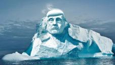 Ekologové vytvoří sochu Donalda Trumpa do arktického ledovce