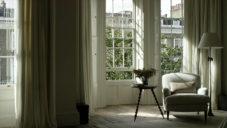 Britská interiérová designérka Rose Uniacke ukazuje svůj dům v Londýně