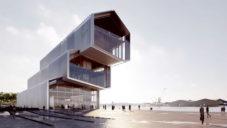 Kengo Kuma postaví ve Francii nakloněné Muzeum námořní historie