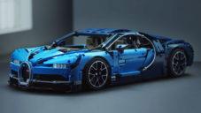 Lego Technic přichází se stavebnicí vozu Bugatti Chiron z 3 600 dílů
